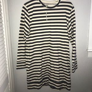 Striped ASOS dress